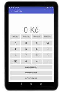 ETKasa.cz - aplikace